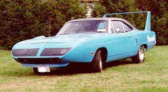1970 Plymouth Superbird, left front view