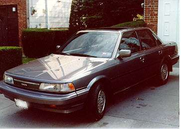 ... , it's beenreplaced by a '98 Honda Accord EX-V6 sedan. Photo below