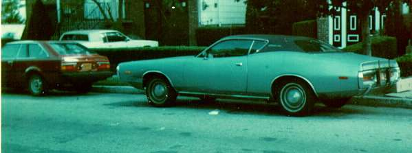 1972 Dodge Charger and 1980 Toyota Corolla Liftback