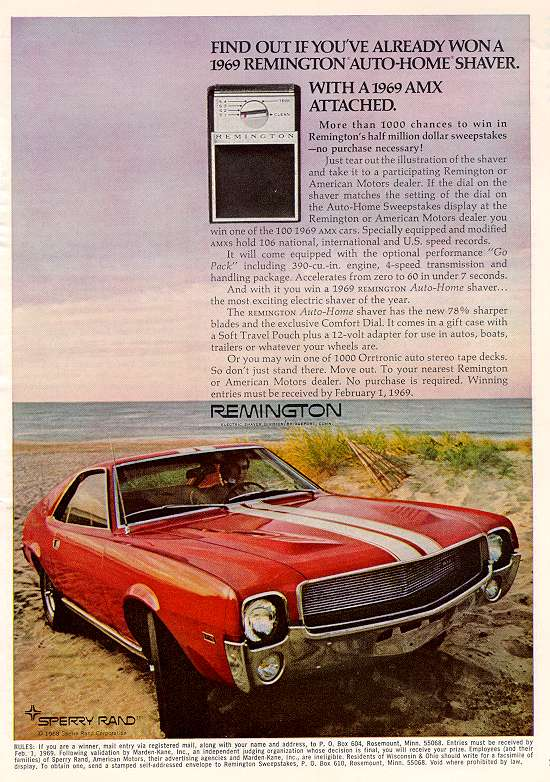 1969 Remington-AMX ad.jpg (89699 bytes)