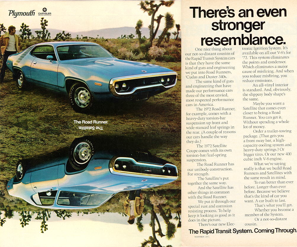1972 Plymouth Road Runner/