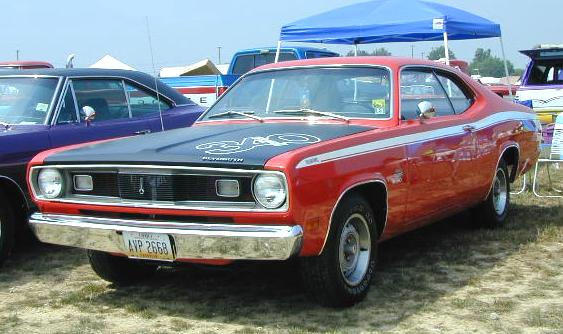 A-1970_Plymouth_Duster_LeftFront.jpg (42465 bytes)