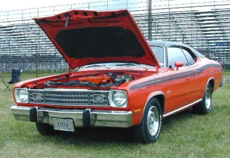 A-1974_Plymouth_Duster_FrontLeft.jpg (37886 bytes)